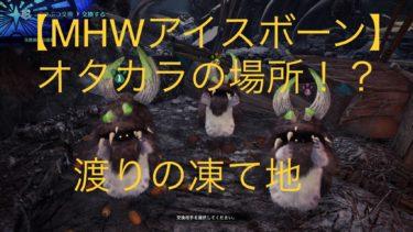 【MHWアイスボーン】『ボワボワの知恵試し』の入手場所(画像付き)