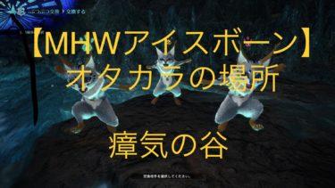 【MHWアイスボーン】『ぶんどり王の遺産』の入手場所(画像付き)