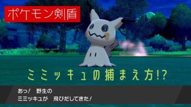 【ポケモン剣盾】ミミッキュの分布と捕まえ方!?